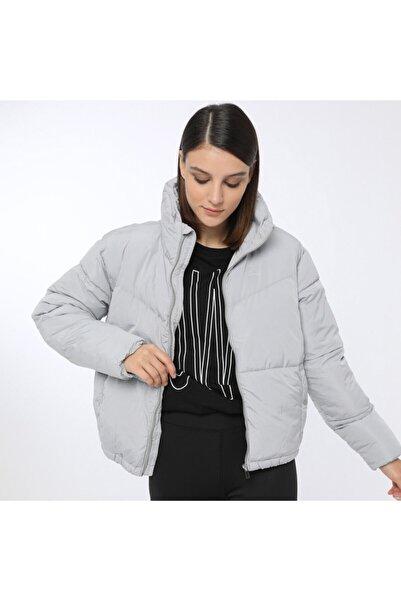 Kinetix Candy Coat Gri Kadın Kısa Kaban