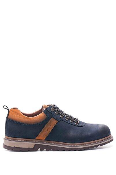 Bulldozer 18536 Lacıvert Nubuk Erkek Ayakkabı
