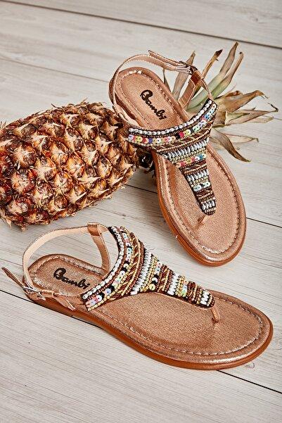 Bambi Rose Kadın Sandalet L0625022478