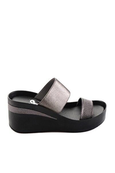 Bambi Platin Kadın Sandalet H0658590709