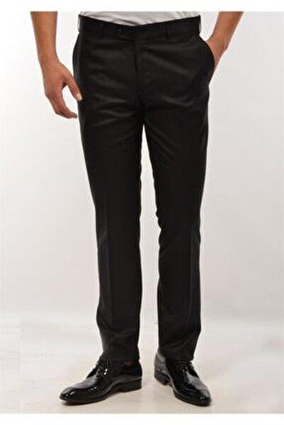 Erkek Pantolon Siyah Kumaş