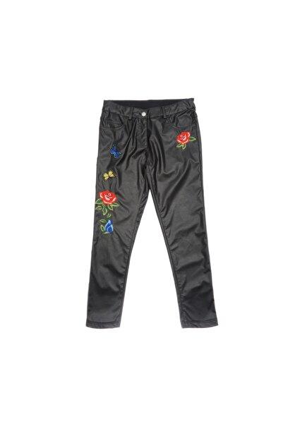 Panço Kız Çocuk Deri Pantolon 1722117100