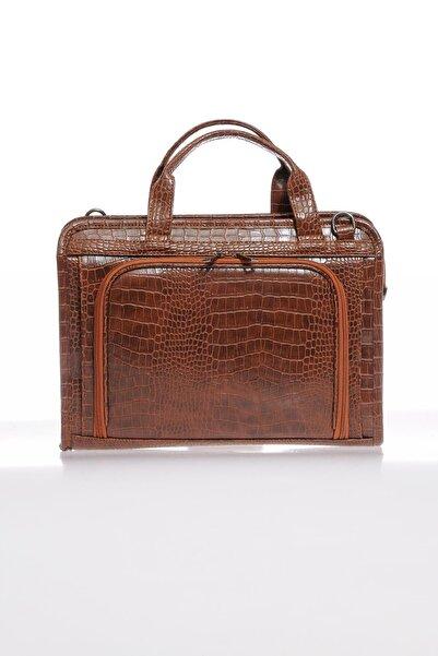 Sergio Giorgianni Luxury Sg071219 Kroko/taba Unisex Evrak Çantası