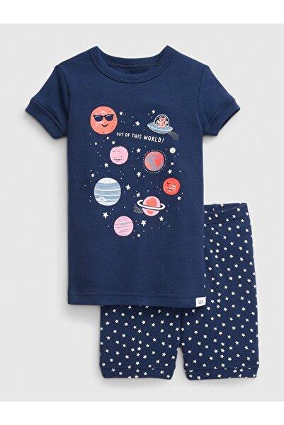GAP Baby Kısa Kollu Desenli Pijama Takımı