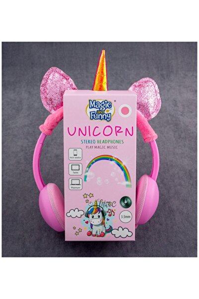 CDY CMS2872P Açık Pembe Unicorn Kulaklık