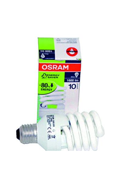 Osram Dulux Mini Twist 23w Tasarruflu Ampul 6500k Beyaz (10adet)