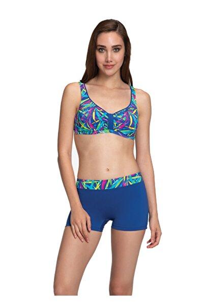 Dagi Mor Luplu Bikini Takımı