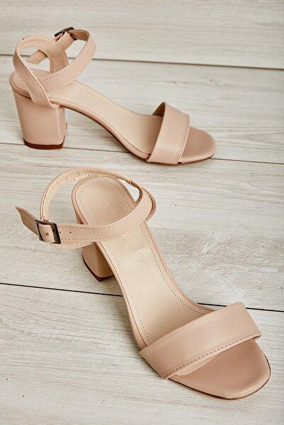 Bambi Pudra Kadın Açık Ayakkabı L0503550709