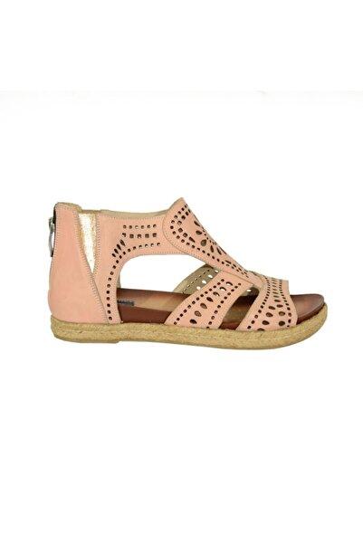 Mammamia 5030 Kadın Deri Sandalet