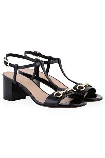 Nursace Hakiki Deri Klasik Topuklu Ayakkabı Nsc17y-a51023