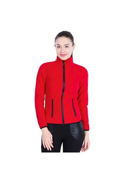 Sportive Kadın Kırmızı Günlük Stil Polar 710080-00c-sp