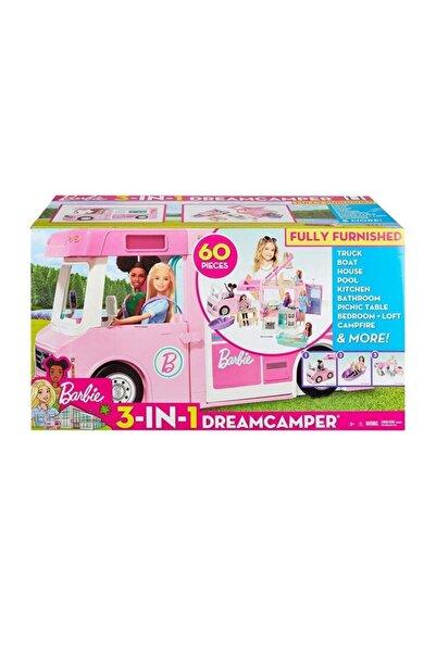mattel Barbie Üçü Bir Arada Rüya Karavanı