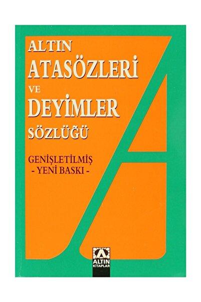Altın Kitaplar Altın Atasözleri ve Deyimler Sözlüğü - Ülkü Kuşçu 9789754051117