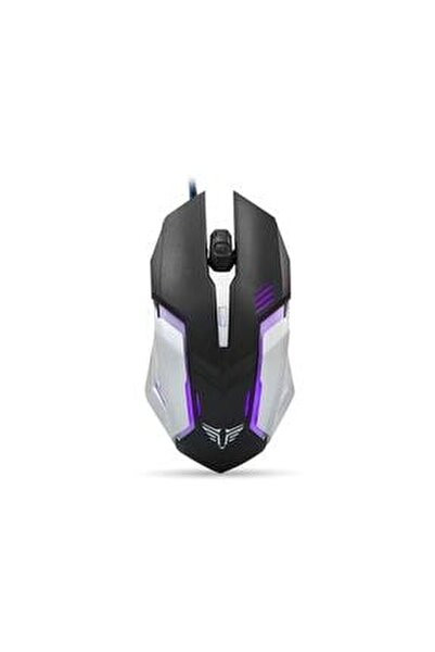 Sm-g72 Gaming Pro Tasarım Usb Siyah/gümüş Işıklandırmalı Oyuncu Mouse