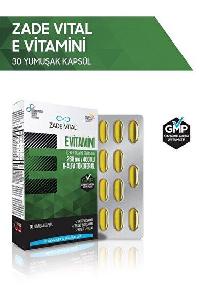 Zade Vital E Vitamini 30 Yumuşak Kapsül - Blister