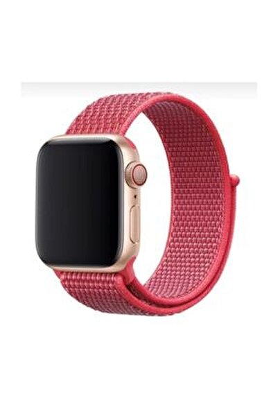 Apple Watch 1-2-3-4-5 Serisi  42mm - 44mm  Uyumlu Spor Loop Kordon
