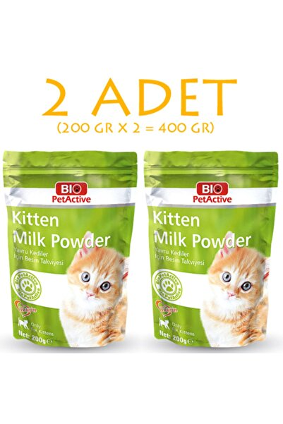 Bio PetActive Kitten Milk Yavru Kedi Süt Tozu 200 gr 2 Adet