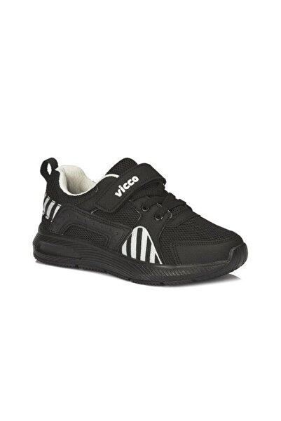Vicco Weston Unisex Çocuk Siyah/beyaz Spor Ayakkabı