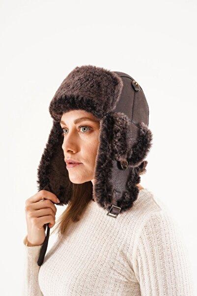 Pegia Hakiki Kürklü Şapka 20sb01
