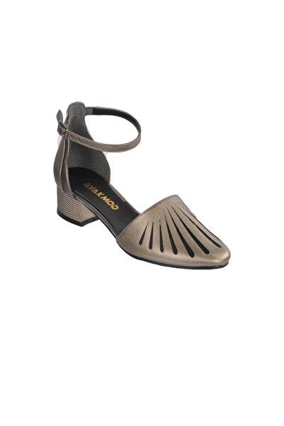 Maje Kadın Gri Topuklu Ayakkabı