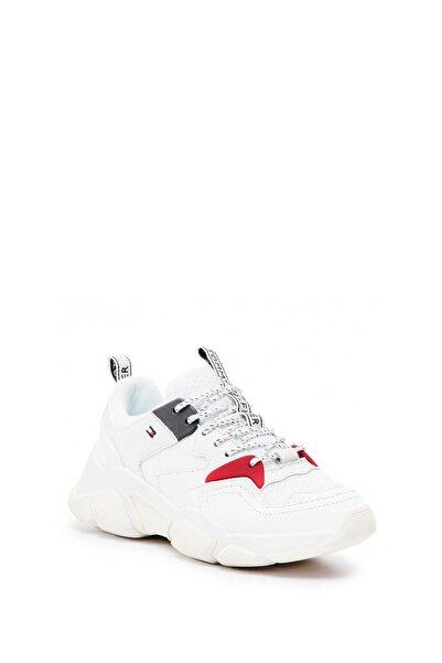 Tommy Hilfiger Kadın Beyaz Spor Ayakkabı Fw0fw04065