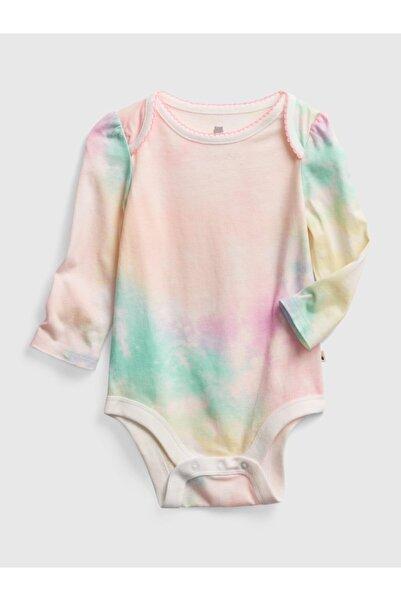 GAP Kız Bebek Uzun Kollu Desenli Body