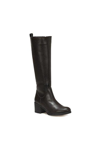 Polaris 316356.Z Kahverengi Kadın Ökçeli Çizme 100562701