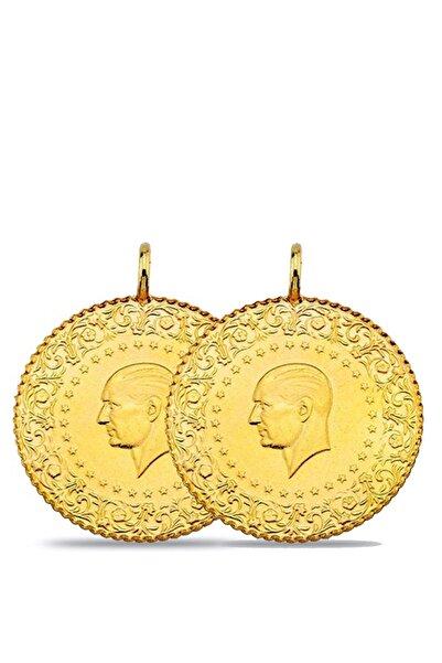Maygold Eski  2 Adet Yarım Altın