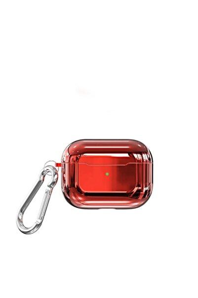 zore Apple Airpods Pro Kılıf Suya Dayanıklı Wireless Şarj Destekli Parlak Tpu Askı Apartlı