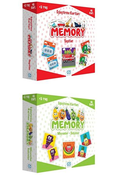 CA Games 2'li Eşleştirme Kartları Memory Set (5038-5040)