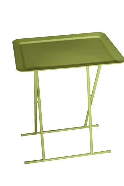 Adore Mobilya Handy Mate Katlanabilir Tepsili Sehpa HND-004-YY-1  Yeşil