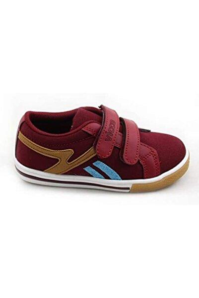 Vicco Erkek Çocuk Bordo Spor Ayakkabı