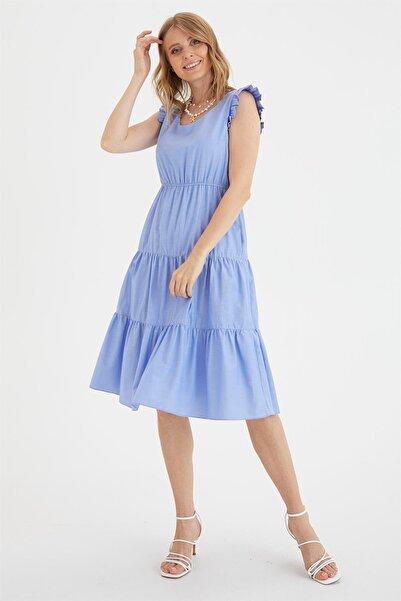 Chima Poplin Elbise