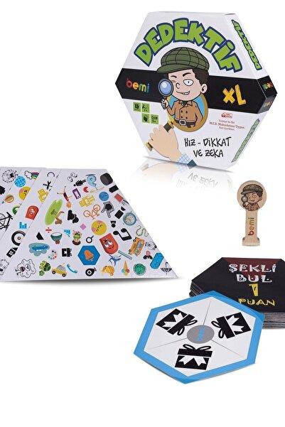 BEMİ Dedektif - Beceri Eğitici Zeka Strateji Çocuk Ve Aile Oyunu - Lüks Kutu Oyunu
