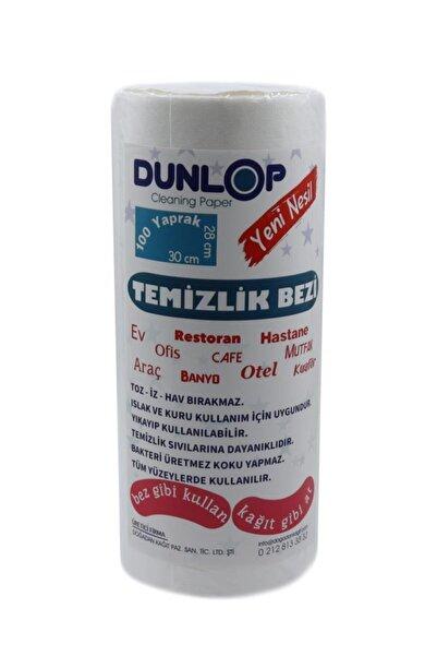 DUNLOP Yeni Nesil Tek Kullanımlık Temizlik Bezi 100'lü