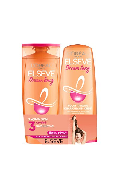 ELSEVE Dream Long Şampuan 450 ml+ Saç Bakım Kremi 175 ml
