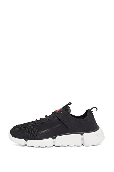 Tommy Hilfiger Erkek Siyah Ayakkabı Em0em00424