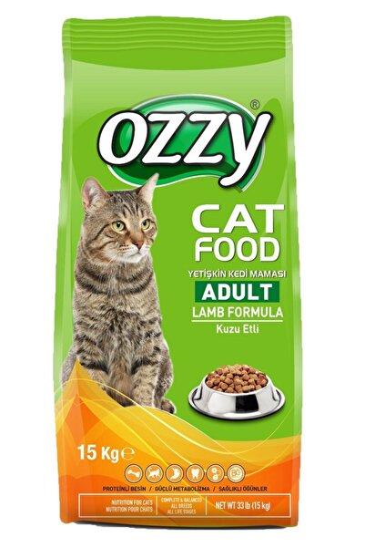 Ozzy Kuzu Etli Yetişkin Kedi Maması 15 Kg