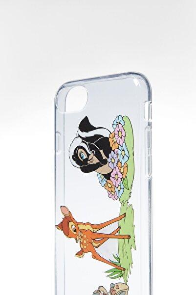 Bershka Bambi Baskılı Iphone 6/7/8 Cep Telefonu Kılıfı