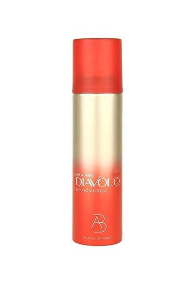Antonio  Banderas Diavolo Deodorant 150 ml Kadın Deodorant 8411061565896