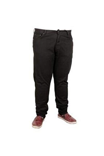 Erkek Pantolon Keten Neptun Klasik 20902 Siyah