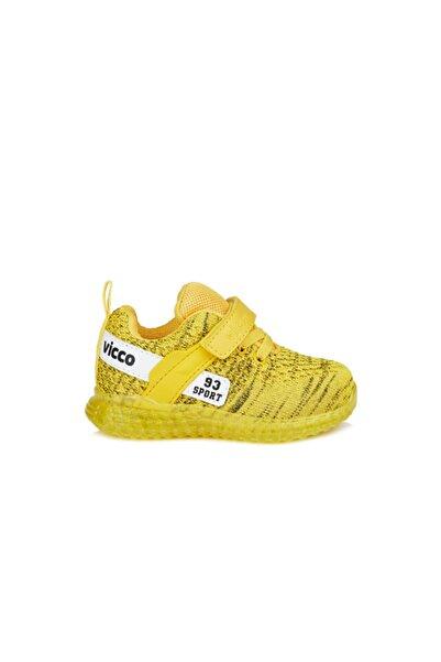 Vicco Alfa Unisex Çocuk Sarı Spor Ayakkabı