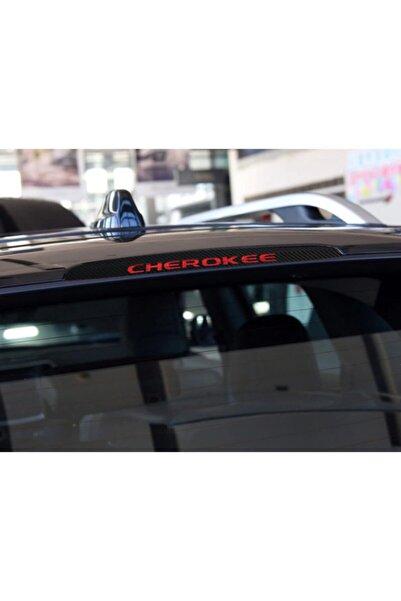 Jeep Cherokee Karbon Fiber Stop Lamba Filmi