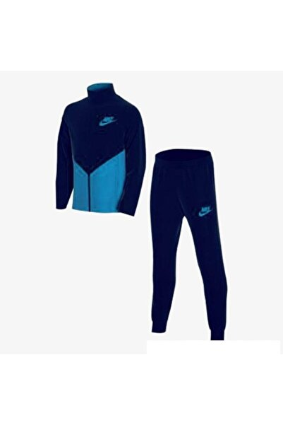 Nike Çocuk Eşofman Lacivert Sportswear Takımı