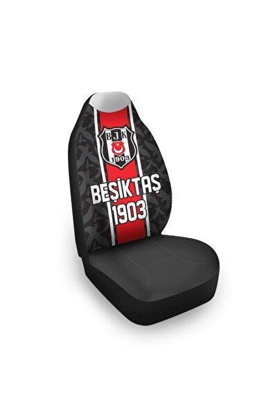 Beşiktaş Lisanslı Beşiktaş Siyah ve Kırmızı Araba Koltuk Kılıfı