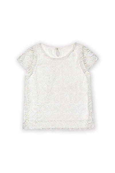 Wonder Kıds Kız Çocuk Beyaz Bluz Wk15s3119