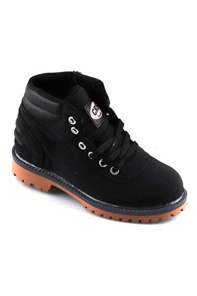 Cross Erkek Çocuk Siyah Kışlık Bot Ayakkabı