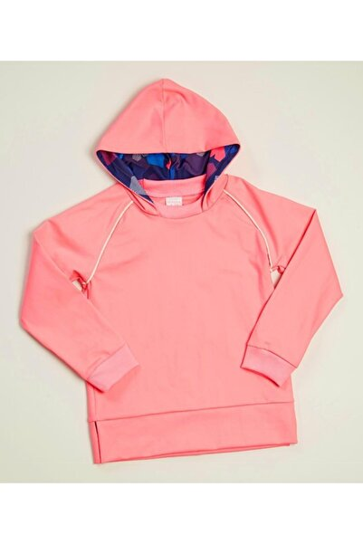 Wonder Kıds Kız Çocuk Pembe Kapüşonlu Sweatshirt