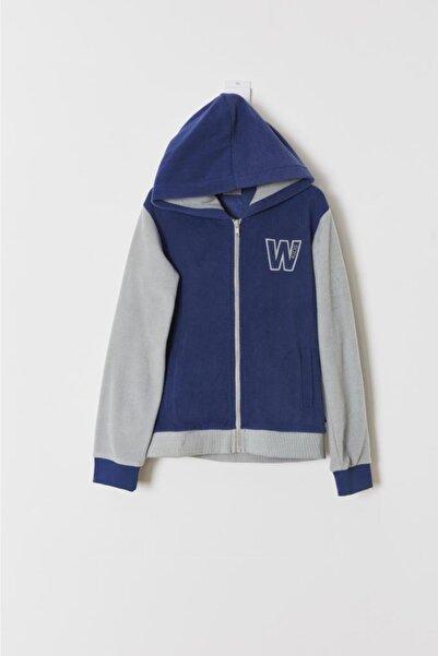 Wonder Kıds Erkek Çocuk Lacivert Sweatshirt