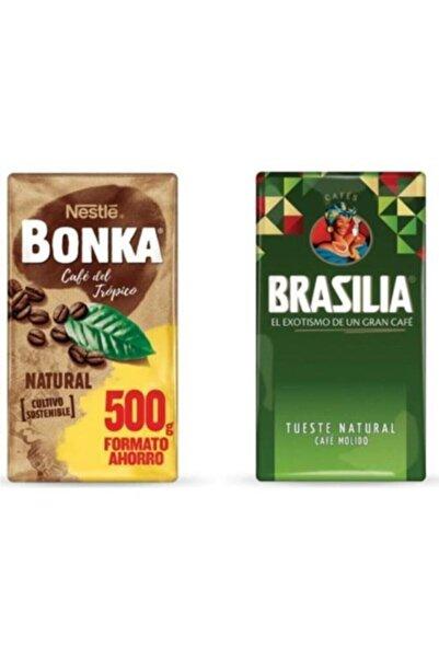 Nestle Bonka 500 gr + Brasilia 500 gr Filtre Kahve